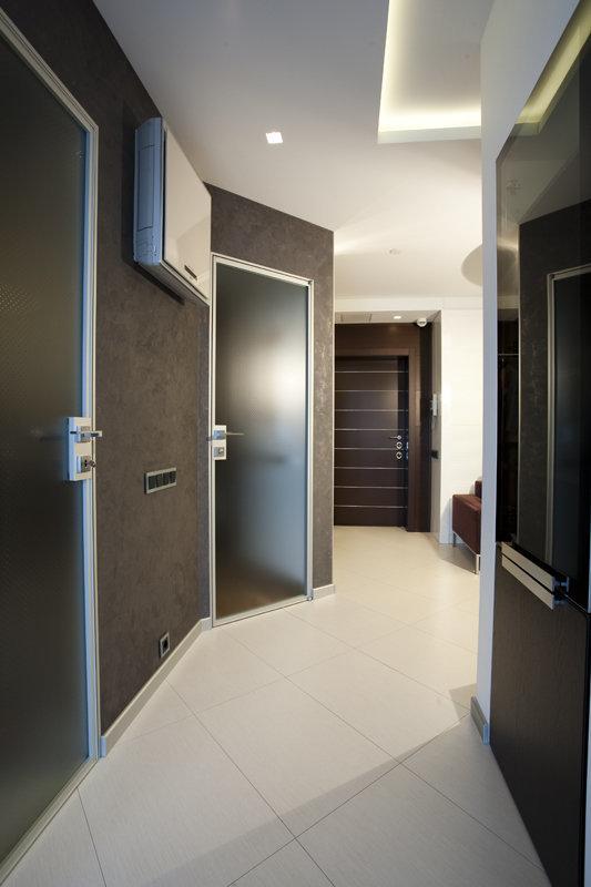 Фотография: Прихожая в стиле Лофт, Квартира, Дома и квартиры, Минимализм – фото на InMyRoom.ru
