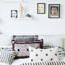 Фото из портфолио Этнические мотивы и геометрия черного и белого – фотографии дизайна интерьеров на INMYROOM