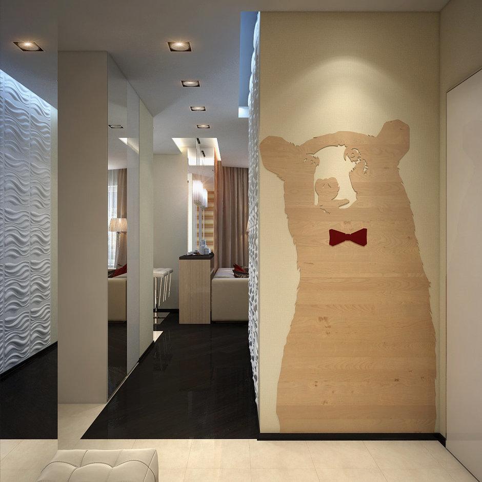 Фотография: Прочее в стиле , Малогабаритная квартира, Квартира, Дома и квартиры, Проект недели, Перепланировка – фото на InMyRoom.ru