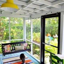 Фотография: Балкон, Терраса в стиле Кантри, Современный, Декор интерьера, Цвет в интерьере, Индустрия, Новости, Маркет, Ковер – фото на InMyRoom.ru