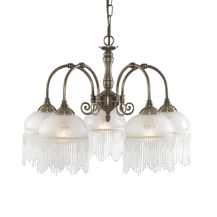 Подвесная люстра Arte Lamp Victoriana в замковом стиле