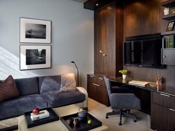 Фотография: Гостиная в стиле Современный, Эко, Декор интерьера, Мебель и свет, Советы – фото на InMyRoom.ru