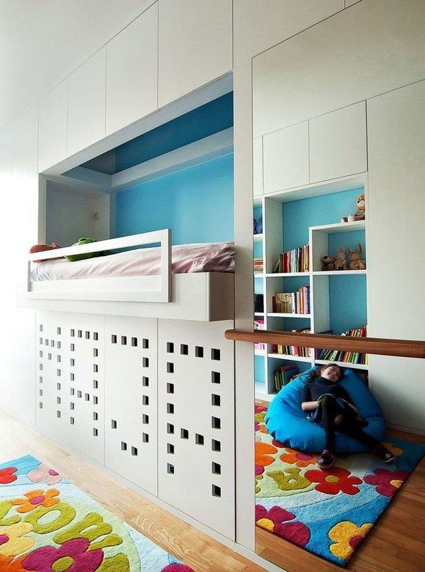 Фотография: Прочее в стиле , Детская, Интерьер комнат, Цвет в интерьере, Белый – фото на InMyRoom.ru
