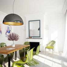 Фотография: Кухня и столовая в стиле Скандинавский, Современный, Декор интерьера, Квартира, Дизайн интерьера, Цвет в интерьере – фото на InMyRoom.ru