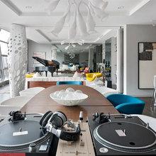 Фотография: Кухня и столовая в стиле Современный, Эклектика, Квартира, Дома и квартиры – фото на InMyRoom.ru