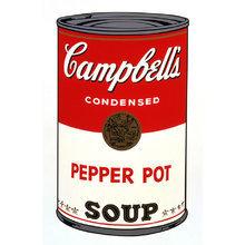 Картина (репродукция, постер): Soup - Энди Уорхол