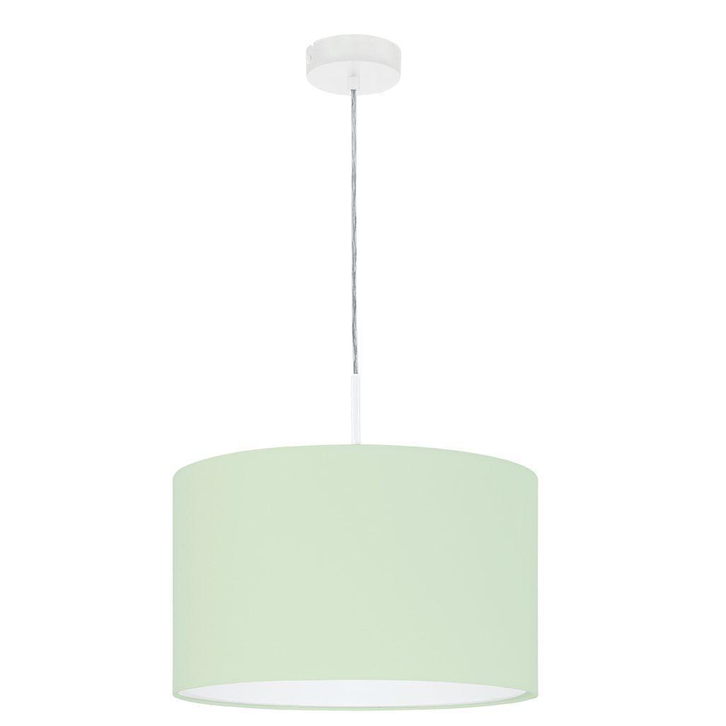 Подвесной светильник Pasteri-p с зеленым абажуром