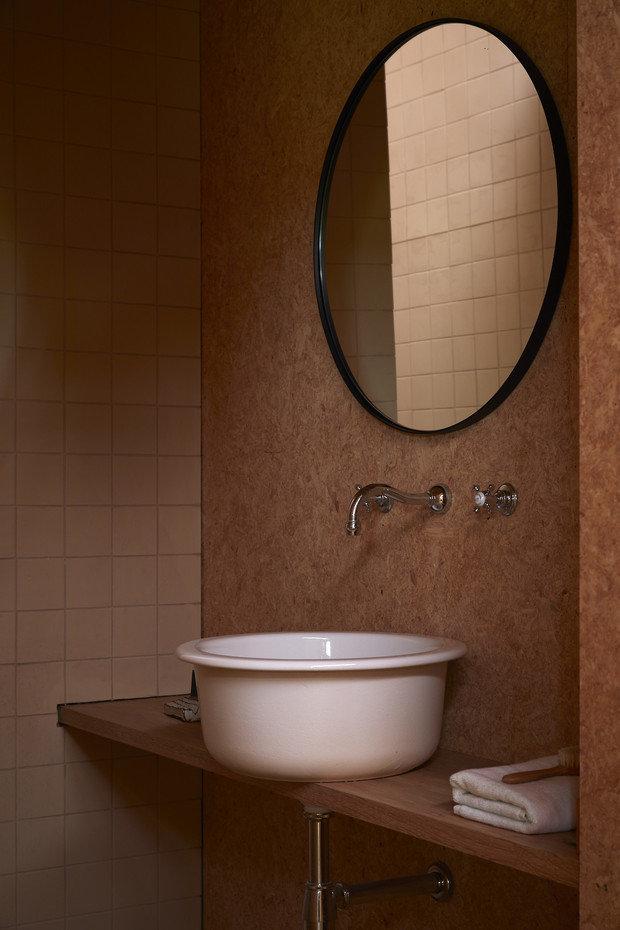 Фотография: Ванная в стиле Эко, Современный, Минимализм, Дом и дача, 3 комнаты, Индивидуальный проект – фото на INMYROOM