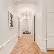Фотография:  в стиле Скандинавский, Квартира, Швеция, Цвет в интерьере, Дома и квартиры, Белый – фото на InMyRoom.ru