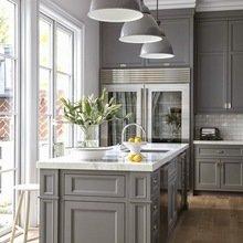 Фотография: Кухня и столовая в стиле Кантри, Советы, цветовая палитра интерьера – фото на InMyRoom.ru