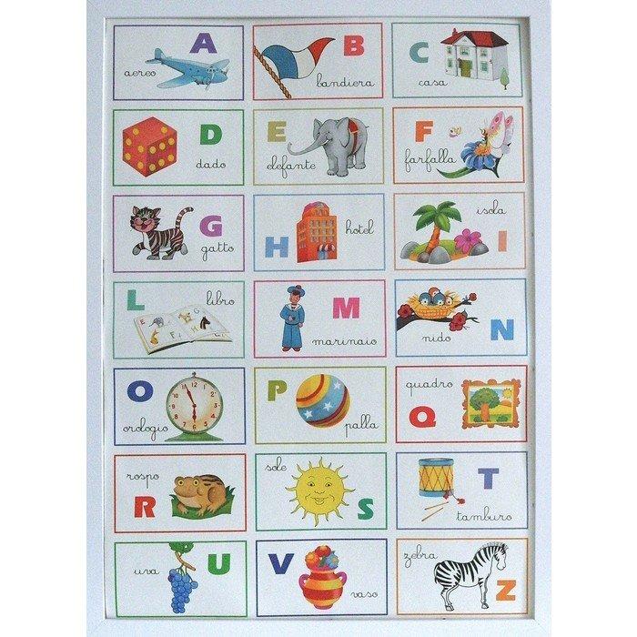 Постер alfabet