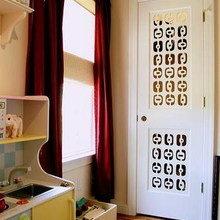 Фотография: Детская в стиле Современный, Декор интерьера, DIY, Фотообои – фото на InMyRoom.ru