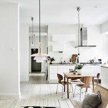 Фото из портфолио Швеция — дань скандинавскому стилю и белоснежному интерьеру – фотографии дизайна интерьеров на InMyRoom.ru