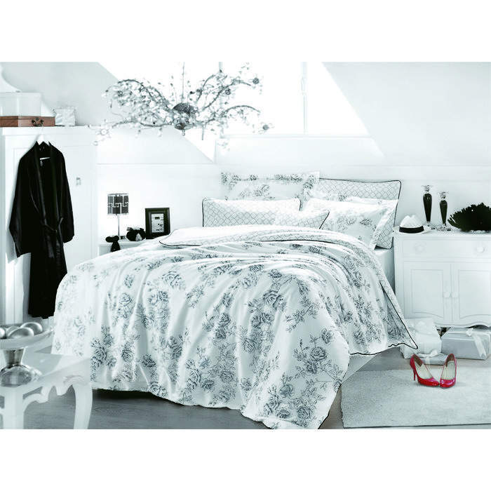 Комплект постельного белья евро ROSE ART