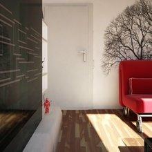 Фотография: Гостиная в стиле Скандинавский, Малогабаритная квартира, Квартира, Дома и квартиры, IKEA, Ремонт – фото на InMyRoom.ru