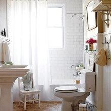 Фотография: Ванная в стиле Скандинавский, Декор интерьера, Интерьер комнат – фото на InMyRoom.ru