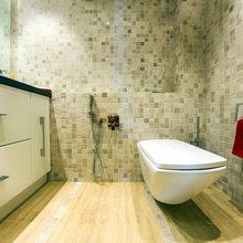 Фото из портфолио Гостевой туалет. – фотографии дизайна интерьеров на InMyRoom.ru