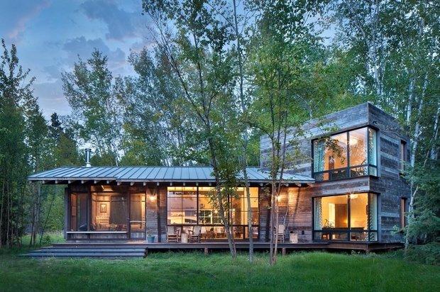 Фотография: Архитектура в стиле , Декор интерьера, Дом, США, Дача, Коричневый – фото на InMyRoom.ru