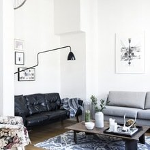 Фото из портфолио Потрясающий Дуэт винтажного и современного. Пентхаус в Хельсинки – фотографии дизайна интерьеров на INMYROOM