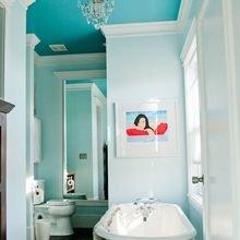 Фотография: Ванная в стиле , Декор интерьера, Дизайн интерьера, Цвет в интерьере – фото на InMyRoom.ru