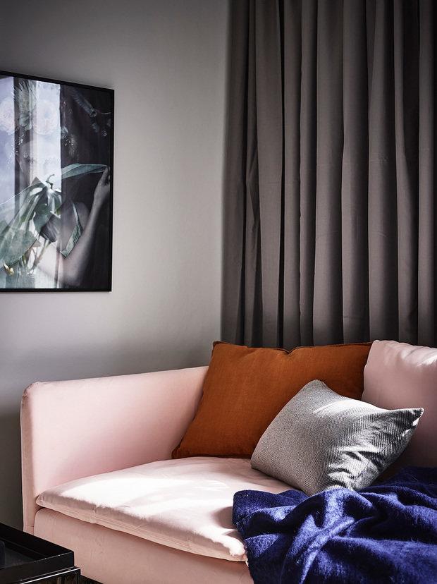 Фотография: Гостиная в стиле Современный, Скандинавский, Декор интерьера, Квартира, Студия, до 40 метров – фото на InMyRoom.ru