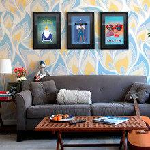Фото из портфолио Дизайнерские обои Респейс – фотографии дизайна интерьеров на InMyRoom.ru