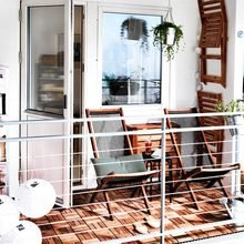 Фотография: Балкон в стиле Скандинавский, Квартира, Аксессуары, Декор, Мебель и свет, Ремонт на практике, Гид – фото на InMyRoom.ru