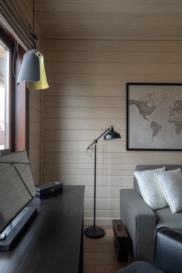 Фото из портфолио Деревянный дом – фотографии дизайна интерьеров на INMYROOM