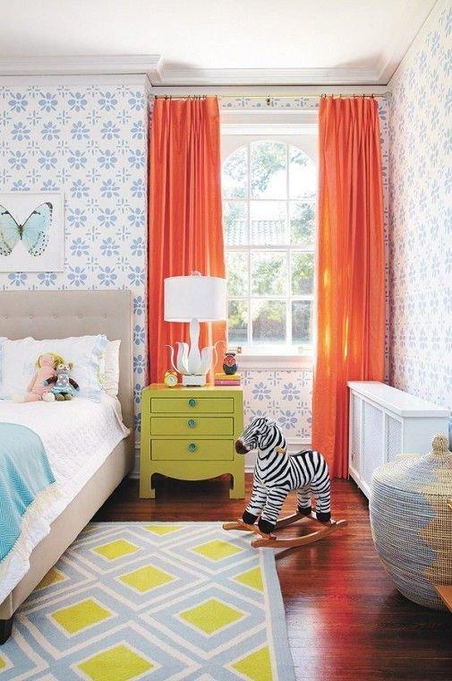 Фотография: Детская в стиле Эклектика, Текстиль, Декор, Цвет в интерьере, Стиль жизни, Советы – фото на INMYROOM