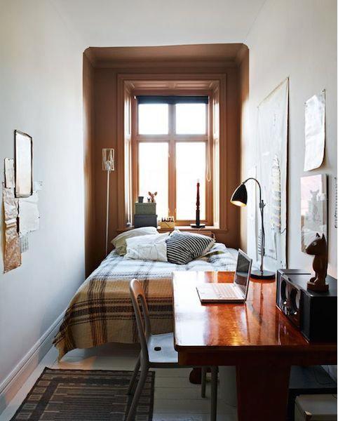 Фотография: Спальня в стиле Современный, Эклектика, Студия, Планировки, Советы, Гид – фото на InMyRoom.ru