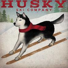 Картина (репродукция, постер): Husky Ski Co - Райан Фоулер