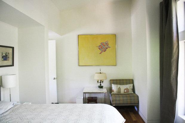 Фотография: Спальня в стиле Скандинавский, Декор интерьера, Декор дома, Картины, Современное искусство – фото на InMyRoom.ru