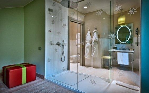 Фотография: Ванная в стиле Современный, Дома и квартиры, Городские места, Отель, Модерн, Милан, Замок – фото на InMyRoom.ru