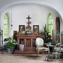 Фотография: Гостиная в стиле Кантри, Дом, Дом и дача – фото на InMyRoom.ru