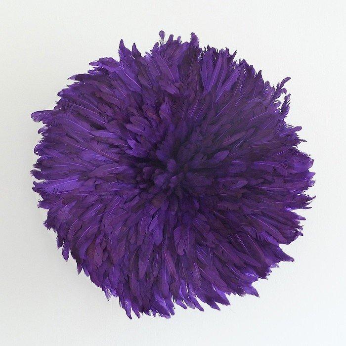 Камерунская шляпа  средняя (50 см) фиолетовая