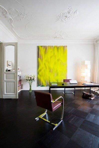 Фотография: Офис в стиле Скандинавский, Декор интерьера, Дизайн интерьера, Цвет в интерьере, Желтый – фото на InMyRoom.ru