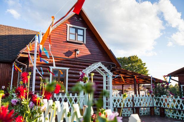 Фото из портфолио Загородные усадьбы – фотографии дизайна интерьеров на INMYROOM