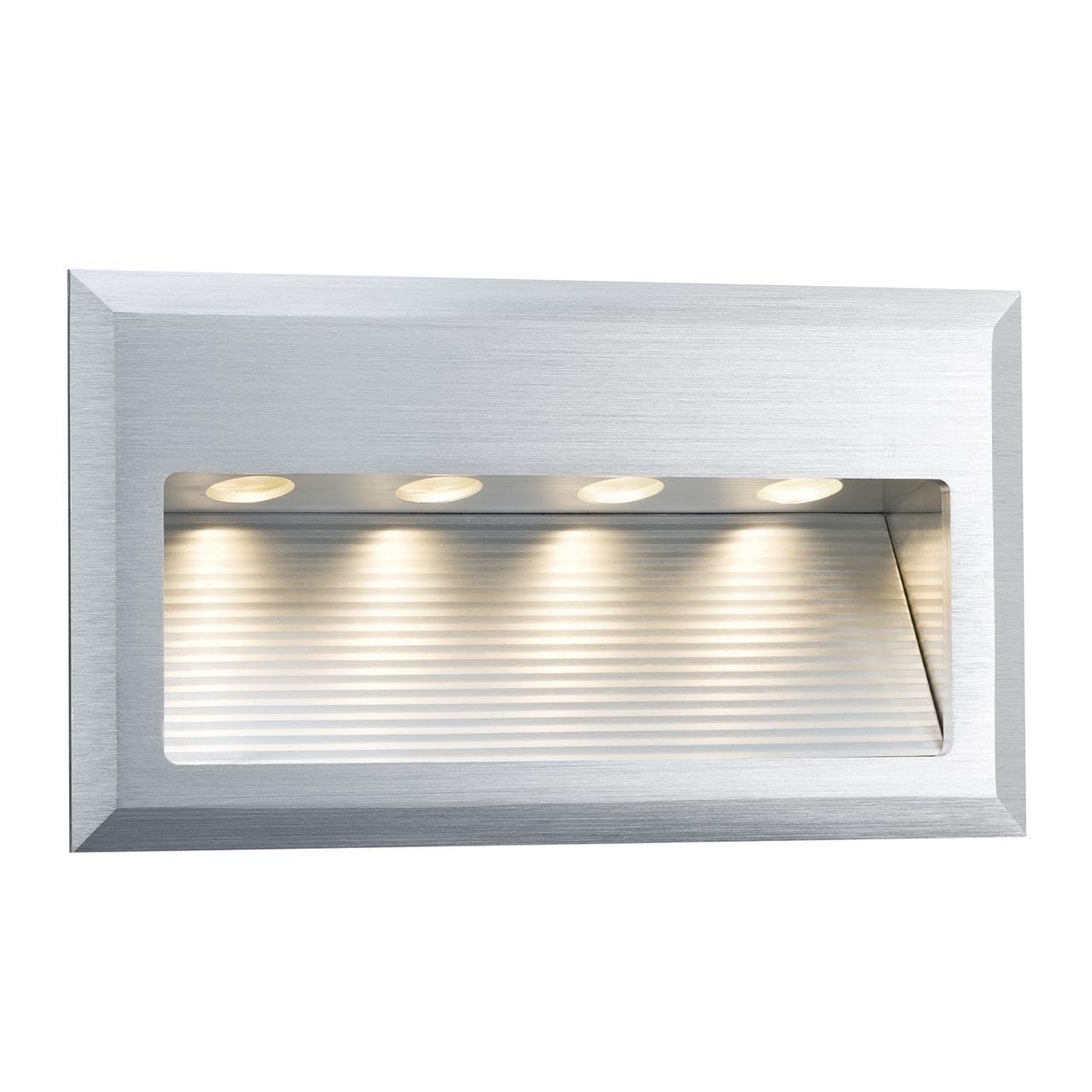 Купить Встраиваемый светодиодный светильник Wall Led Cross серого цвета, inmyroom, Германия