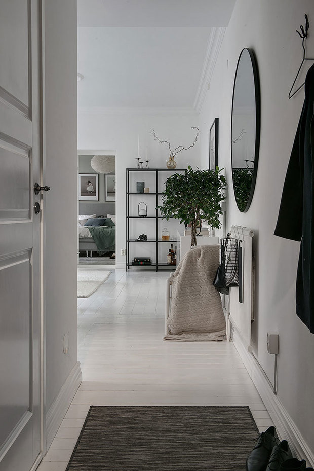 Фотография: Прихожая в стиле Скандинавский, Декор интерьера, Квартира, Швеция, 2 комнаты, 40-60 метров, Alvhem – фото на InMyRoom.ru