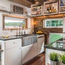Фотография: Кухня и столовая в стиле Кантри, Дача, Дом и дача – фото на InMyRoom.ru