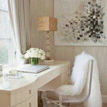 Фотография: Кабинет в стиле Эклектика, Декор интерьера, Интерьер комнат, Стулья, Лампы, DG Home – фото на InMyRoom.ru