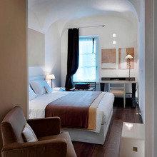 Фотография: Спальня в стиле Минимализм, Эко, Италия, Дома и квартиры, Городские места, Отель – фото на InMyRoom.ru
