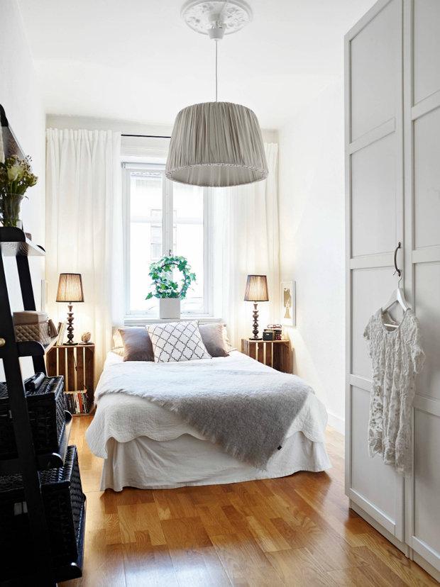 Фотография: Спальня в стиле Скандинавский, лайфхаки, #каксэкономить – фото на INMYROOM