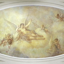 Фото из портфолио Росписи потолков – фотографии дизайна интерьеров на InMyRoom.ru