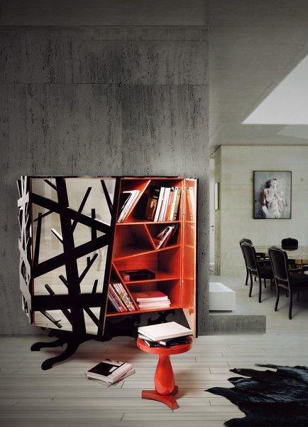 Фотография: Декор в стиле Лофт, Современный, Эклектика, Декор интерьера, Дизайн интерьера, Цвет в интерьере, Оранжевый – фото на InMyRoom.ru