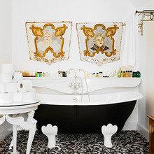 Фотография: Ванная в стиле Кантри, Дом, Дома и квартиры, Барселона – фото на InMyRoom.ru