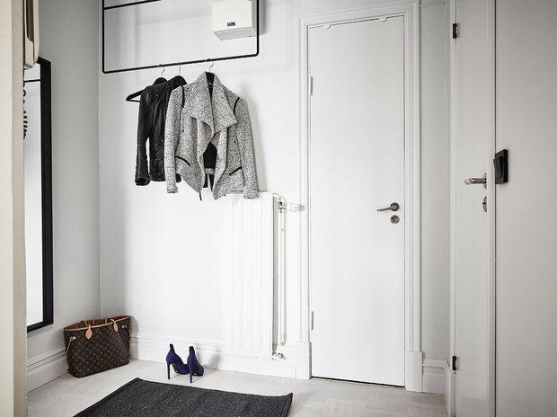 Фотография: Прихожая в стиле Скандинавский, Декор интерьера, Квартира, Студия, до 40 метров – фото на InMyRoom.ru