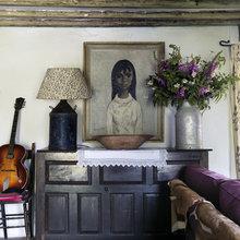 Фотография: Декор в стиле Кантри, Дом, Цвет в интерьере, Дома и квартиры, Стены, Балки – фото на InMyRoom.ru