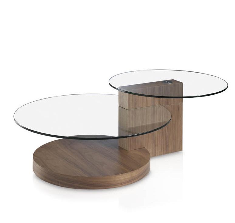 Фото #1: Журнальный столик Personal с двумя стеклянными столешницами