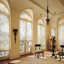 Фотография: Мебель и свет в стиле Кантри, Дизайн интерьера, Большие окна – фото на InMyRoom.ru